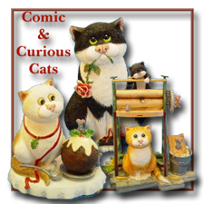Comic Curious Cats